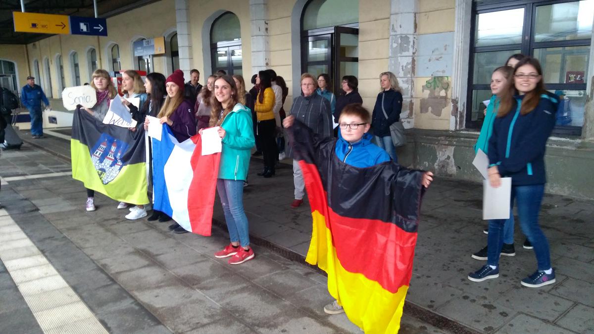 Frankreichs Schüler zu Gast in Freiberg